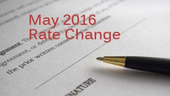 May 2016 Title Insurance Rates Change